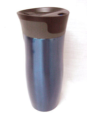 (35188) CONTIGO CANTIMPLORA TERMO BOTELLA WEST LOOP 470ML ACERO INOXIDABLE AZUL