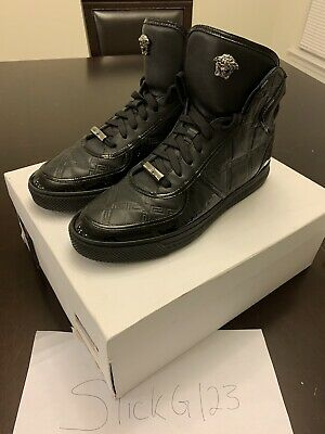 Versace Couture High Top Sneakers With Receipt Size 41 EU US 9