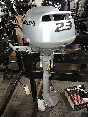 Honda 2.3HP Air Cooled Tiller Control Short Shaft 4-Stroke Outboard with Lanyard