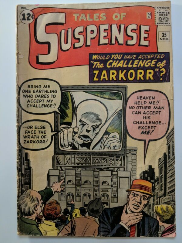 Tales Of Suspense #35 November 1962 Marvel Comics