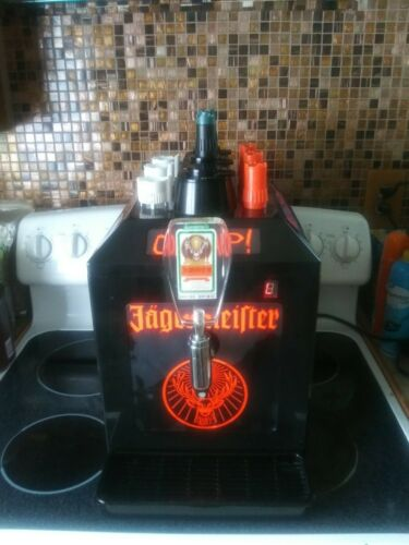 Jagermeister Black Tap Machine 3 Bottle Shot Chiller Model Jemus Working/Tested