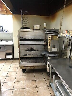 Two 2 Double Stack Lincoln Impinger Pizza Ovens Natural Gas