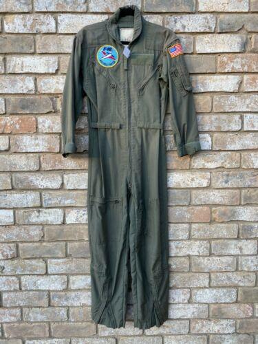 Vintage Flightsuit Mens Flight Suit Air Force USAF NASA F16 Jet Fighter Military