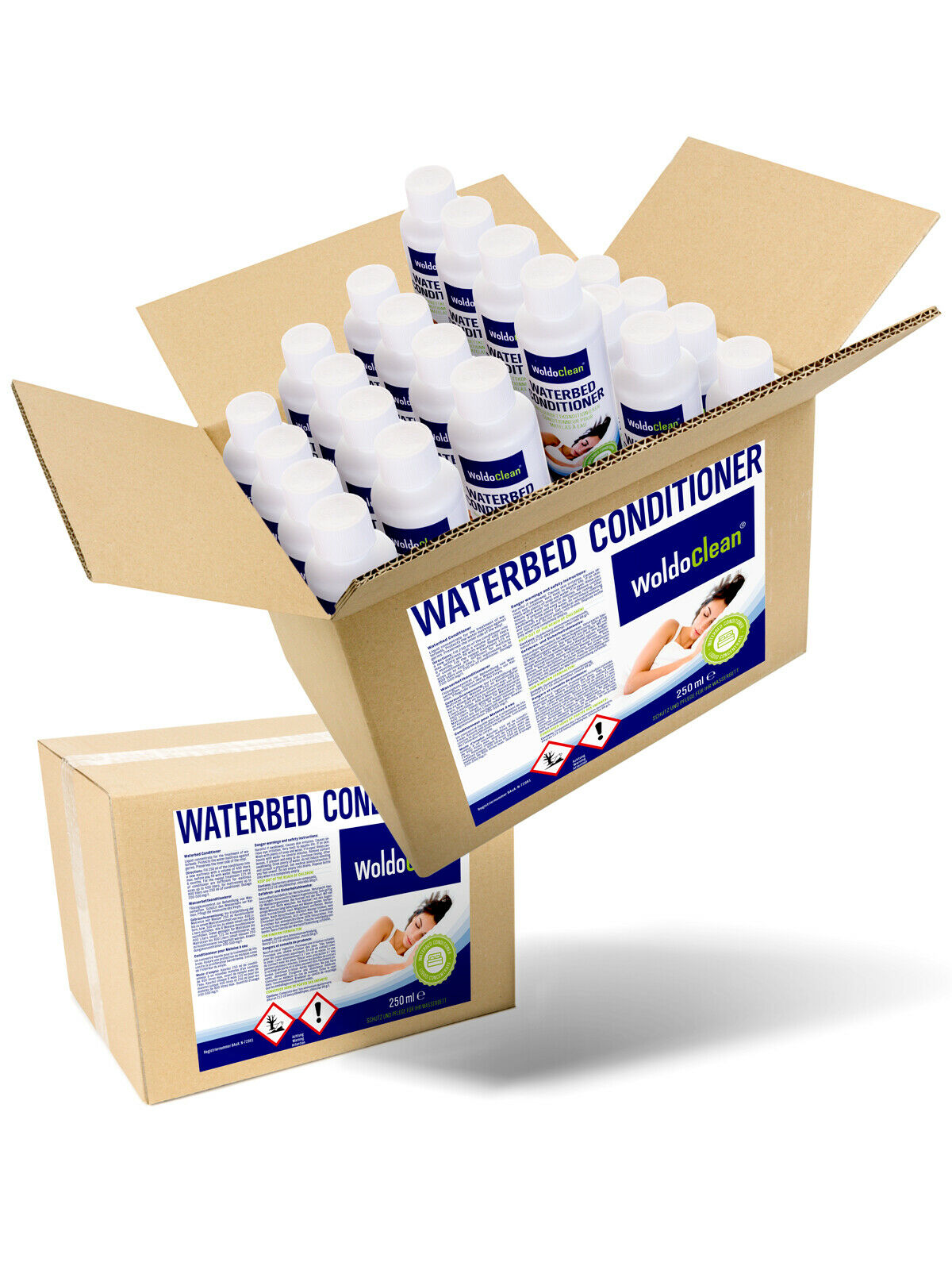 48x 250ml Wasserbetten Conditionierer Wasserbett Conditioner Konditionierer