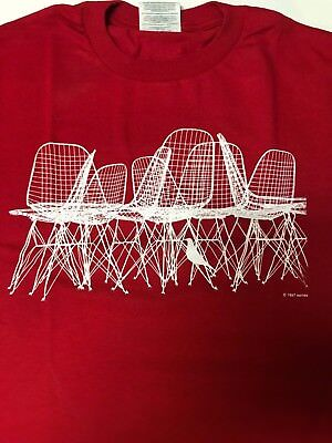 Eames Red Wire Chair & Bird T-Shirt for sale  Barre