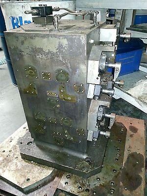Horizontal Cnc Steel Tombstone 22 X 12 X 12