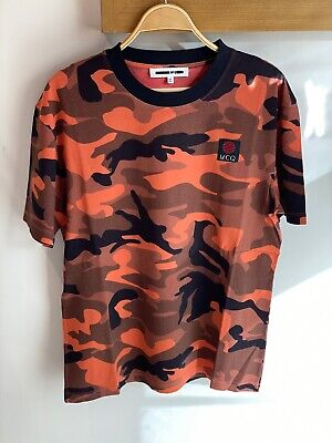 McQ Alexander McQueen camouflage print T-shirt