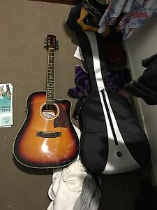 Acoustic electric guitar Oxley Vale Tamworth City Preview