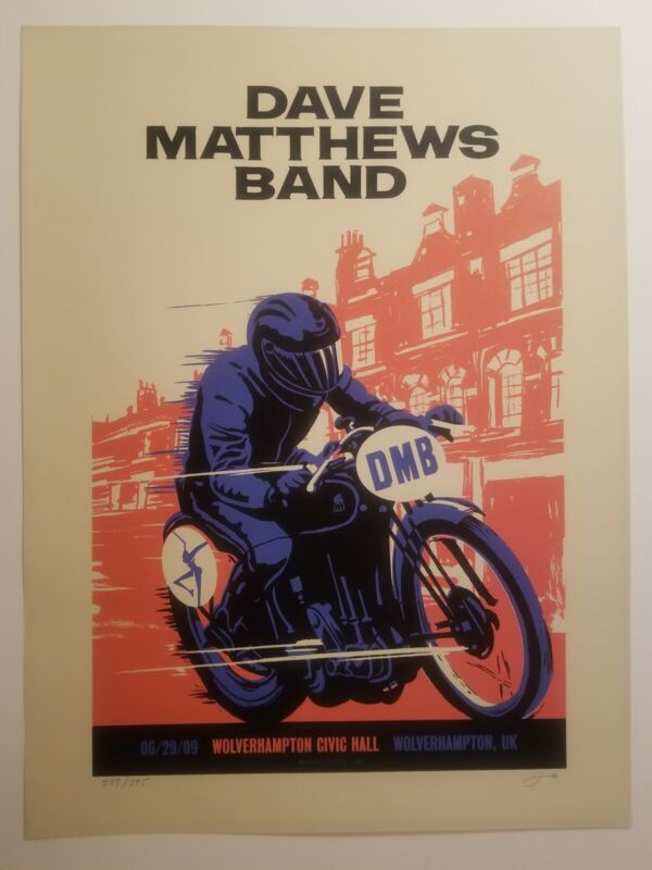 Dave Matthew band poster