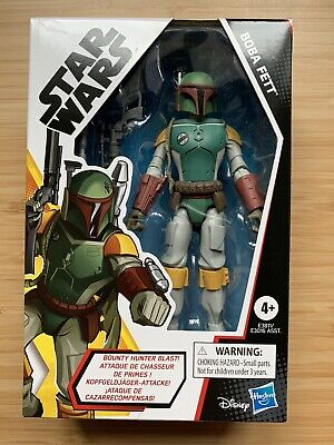 Star Wars Galaxy Of Adventures Boba Fett - Action Figure New (never Opened)