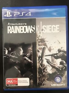 Rainbow Siege / Ghost Recon PS4 games