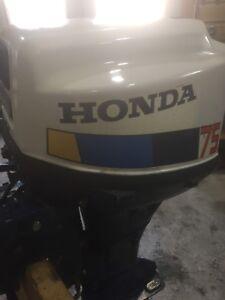 Honda 7.5 hp 4 stroke short shaft
