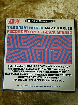 The Best Of RAY CHARLES 4 Track Reel To Reel 7 1/2 IPS Stereo ATLANTIC (Best 2 Track Reel To Reel)