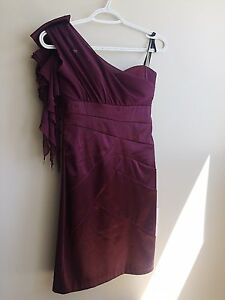 *Spring Cleaning* Worn ONCE * 5/6 SM Purple Evening Dress