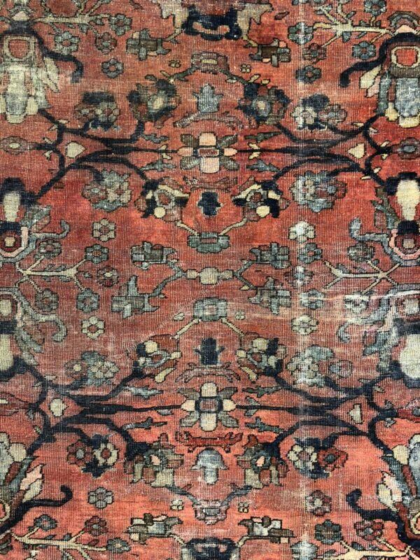 Tremendous Tribal - 1910s Antique Oriental Rug - Nomadic Carpet - 10.2 X 16.10