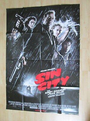 Filmplakat - Sin City (Jessica Alba, Bruce Willis)
