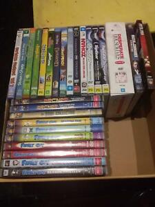 Variety of children's DVDs