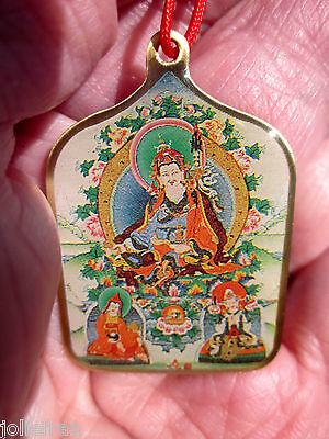 KING GESAR OF LING BELOVED FOLKLORE HER0/GURU RINPOCHE TIBETAN BUDDHIST PENDANT