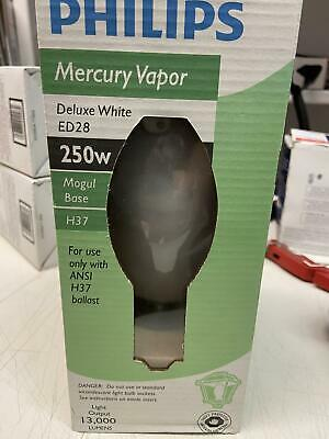 Philips 140806 High Intensity Discharge Mercury Vapor 250-watt Ed28 Light Bulb