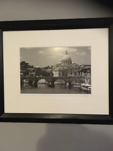 Jesse kalisher signature series Vatican framed matted picture.