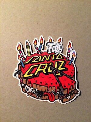 Santa Cruz 70 Cake Sticker ,Skateboard