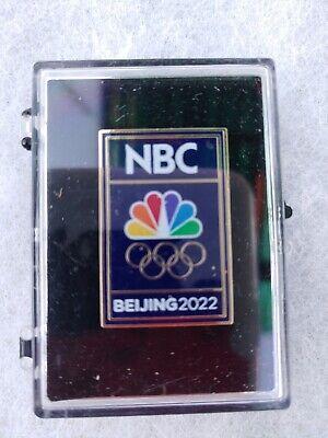 NBC's BEIJING 2022 Olympic Media Pin.