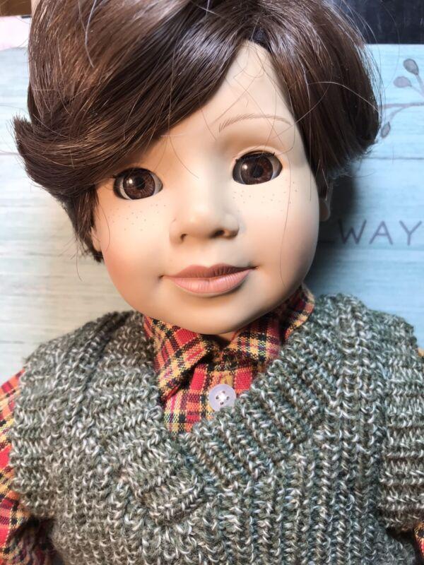"Heidi Ott Doll 19"" DANIEL Hard to Find Boy Best Faithful Friends for Target"