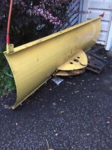 ATV plow blade heavy dury