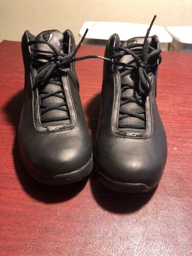 Reebok Shoes Basketball Blk Leather ATR Size 10.5 Men's