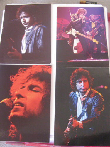 4 x Bob Dylan Postcards (promos for Trouble No More box set issue release) NEW
