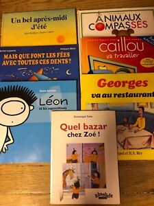 French children's book lot