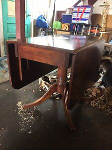Antique Folding Dinning Table