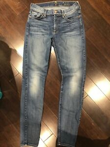 EUC 7 for All Mankind Skinny Jeans - Size 27