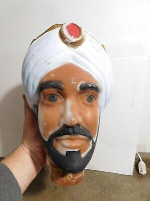 VTG Empire Life Size Nativity Tall Wise Men Replacement Head Christmas Blow Mold