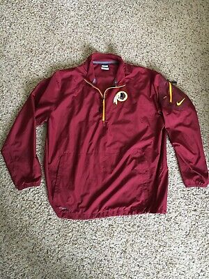 Nike Nfl Football Storm-fit Rainsuit Jacket size 2xl Xl Pants Maroon Red New