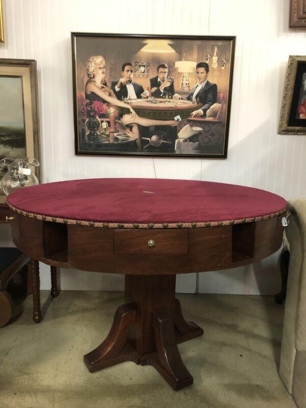 Antique Casino Poker Table