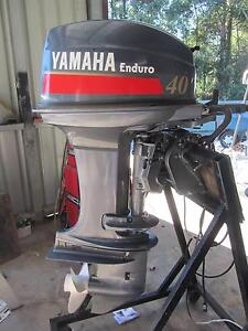 2007 Yamaha 40hp Tiller steer Enduro outboard motor Coffs Harbour Coffs Harbour City Preview