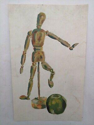 Original Still Life Mannequin Drawing