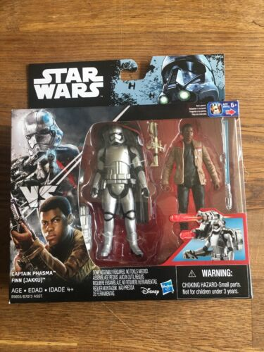 "Captain Plasma, And Finn. Star Wars Rogue One 3.75"" Action F"
