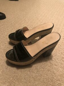 Authentic Prada patent leather shoes