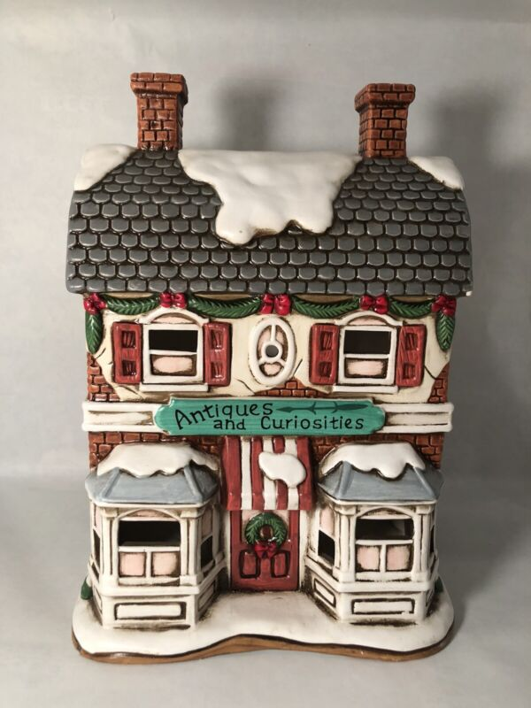 Lefton Colonial Village 1992 Antiques and Curiosities
