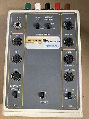 New Version Fluke 217a Ecg Arrhythmia Patient Simulator For Monitor Calibration