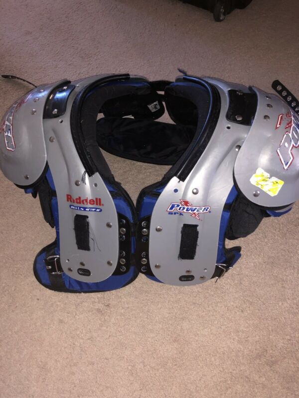 Ridell Power Football Shoulder Pads. Size Large