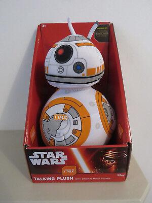 Disney Star Wars Talking Plush: BB-8 The Force Awakens NEW & BOXED