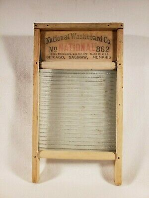 Vintage Atlantic National Washboard No 510 Usa