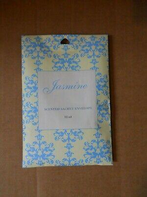 New Sealed Jasmine Scented Sachet Envelope 115 ml