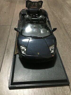 2001 Lamborghini Murcielago Metallic Black AUTOart Signature 1/18 Scale Die Cast