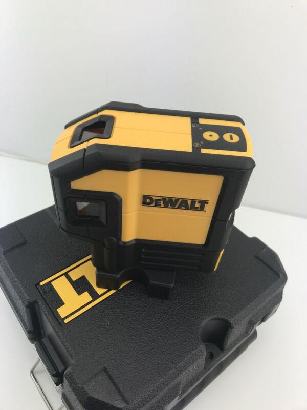 Dewalt DW0851 Red Laser Self Leveling 5 Spot Beams and Horizontal Line w/ Case