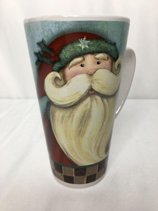"Santa Hot Cocoa Mug  6 1/4"" Design Pac"