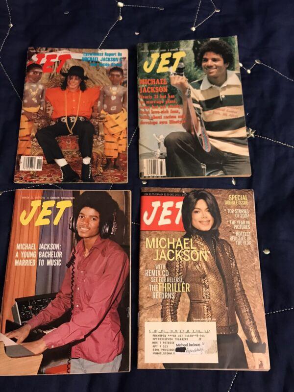 Michael Jackson JET Magazine Lot 1977 1979 1992 2007